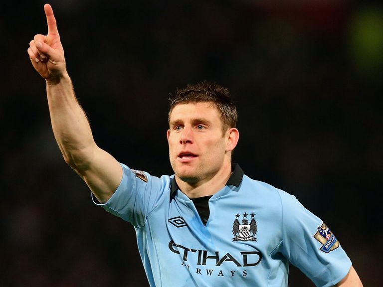 Milner: Hailed the efforts of team-mate Aguero