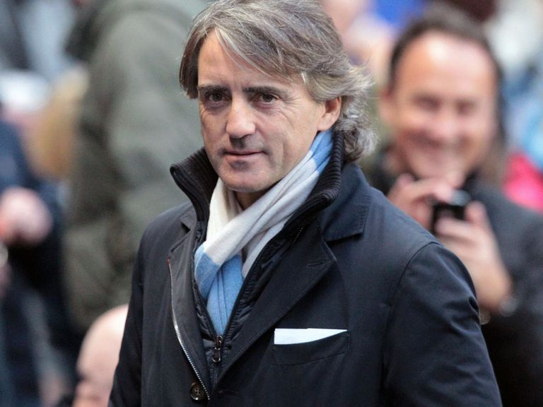Roberto Mancini: Game against West Brom this evening