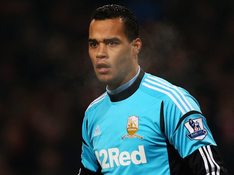 Michel Vorm: Denied talk linking him with a move to Barcelona