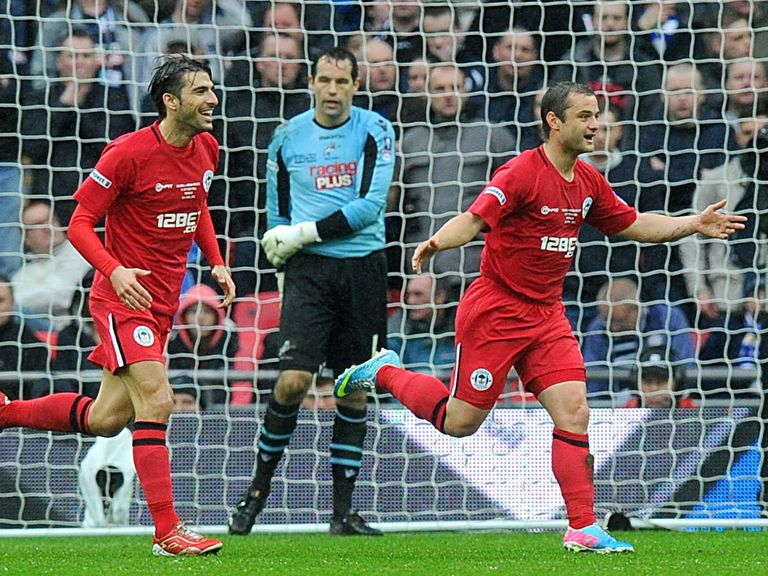 Shaun Maloney: Led Wigan to victory in the semi-final