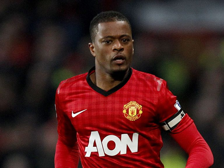 Patrice Evra: Faces West Ham tonight