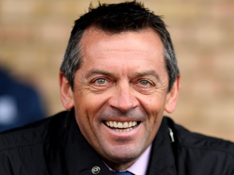 Phil Brown: Happy with his new side's performance despite loss