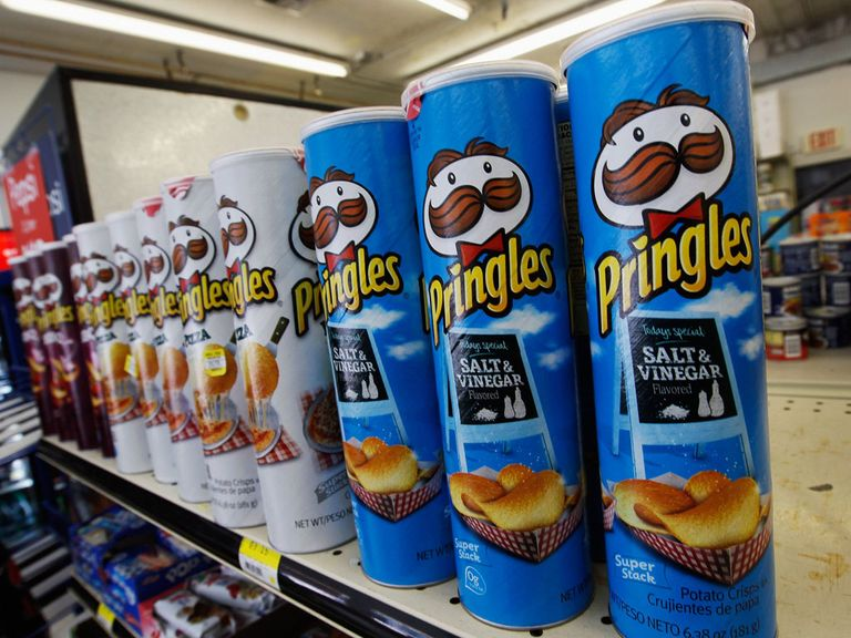 Cheeky was forced to stock up on Pringles instead of a gamble