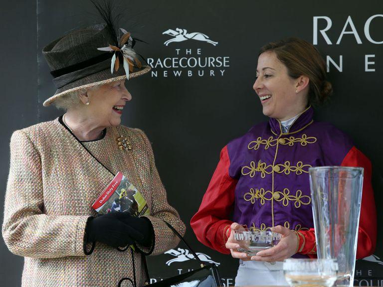 The Queen and Hayley Turner enjoyed success