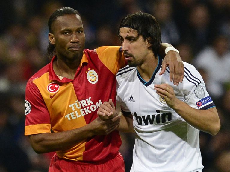 Real Madrid hosted Didier Drogba's Galatasaray in the first leg of their Champions League quarter-final