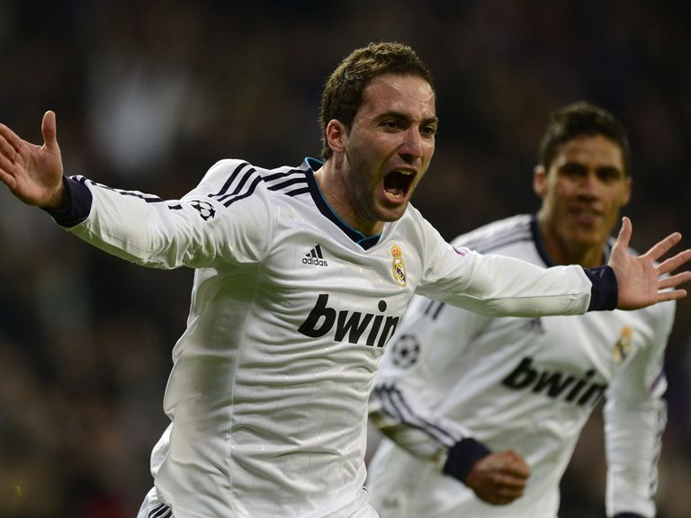 Gonzalo Higuain: Linked with a summer move