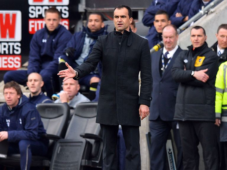 Roberto Martinez: Will lead out Wigan at the FA Cup final