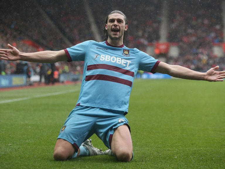 Carroll: Scored for West Ham at Southampton