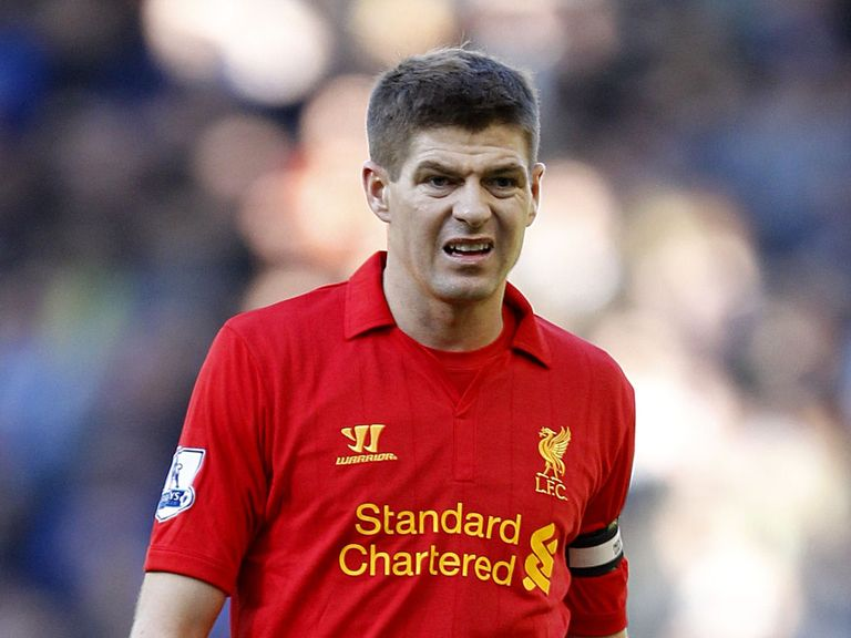 Steven Gerrard: Has been troubled by a shoulder problem over the last year