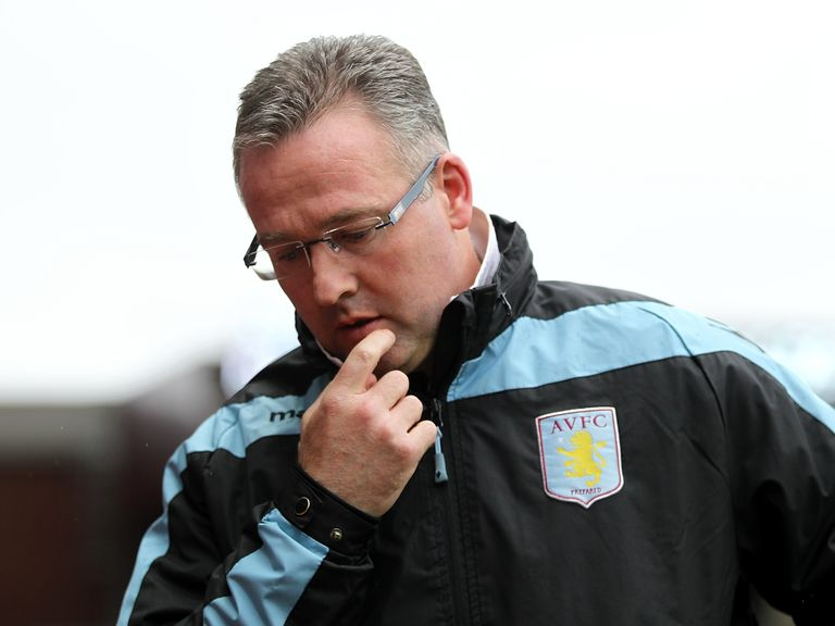 Paul Lambert: His under-pressure face Man Utd on Monday