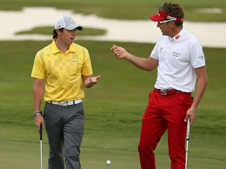 Rory McIlroy and Ian Poulter look the value