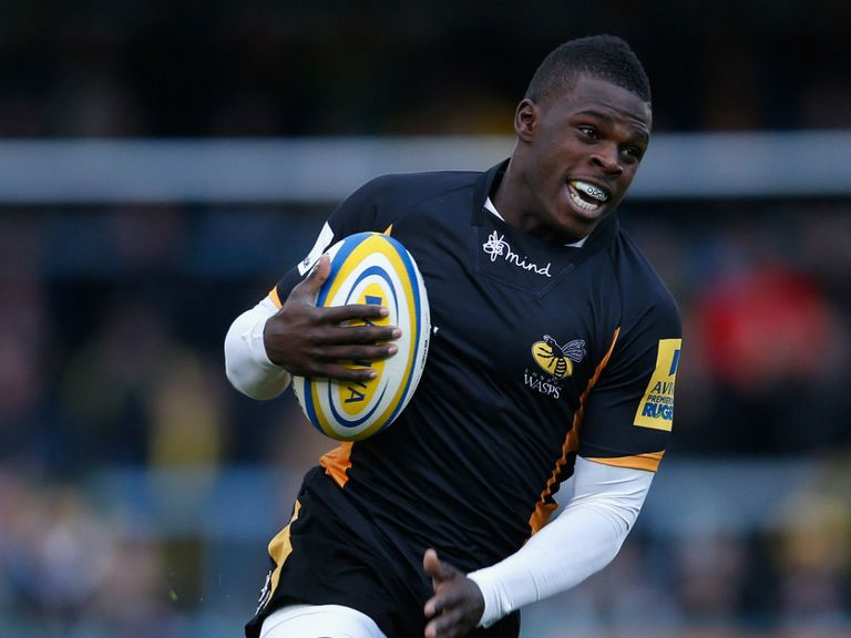 Christian Wade: Injured during Wasps' game against London Irish