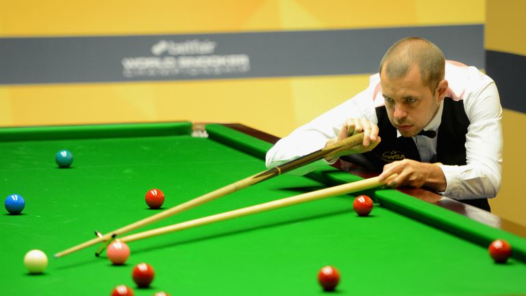 Barry Hawkins: Kent left-hander advanced to maiden World Championship semi-final