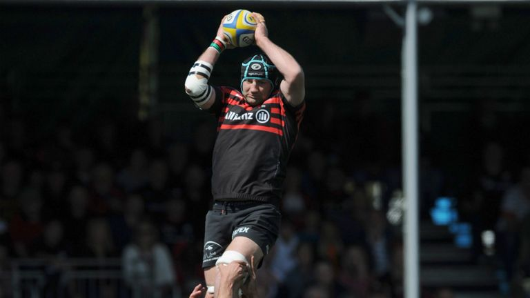 Saracens use their line-out to good effect
