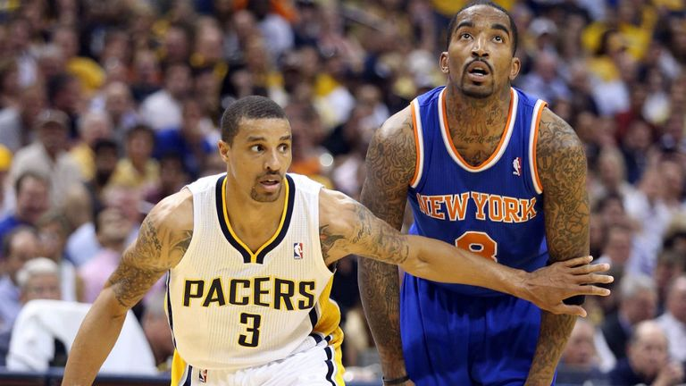 George Hill attempts to brush off JR Smith
