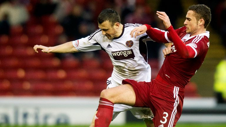 Dale Carrick: Hearts midfielder willing to pay cut