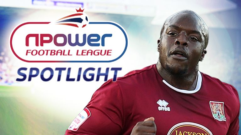 Adebayo Akinfenwa: Planning to make the most of his first Wembley experience