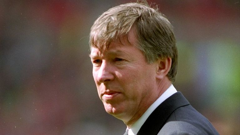 Sir Alex Ferguson: Former Manchester United manager's first team sheet to be sold at auction