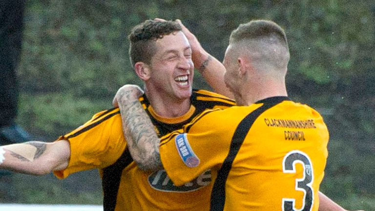 Calum Elliot: Struck the second for Alloa before missing a late penalty