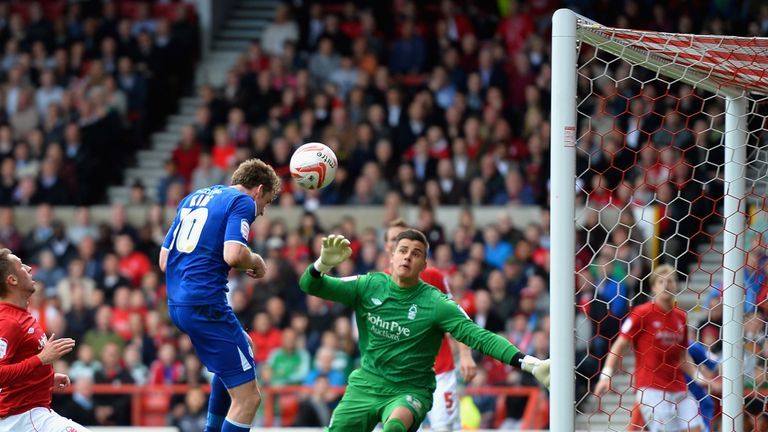Andy King: Heads in for Leicester