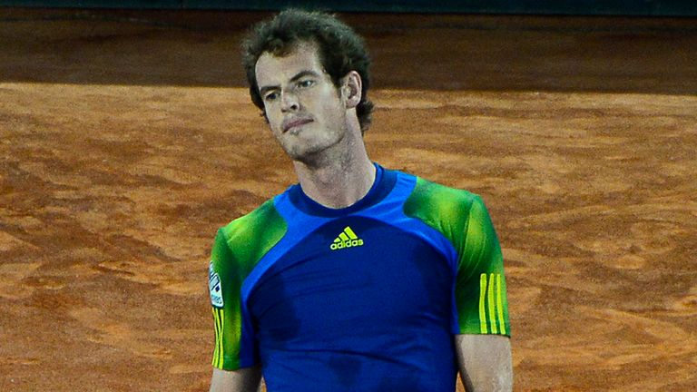Andy Murray: Lost in straight sets