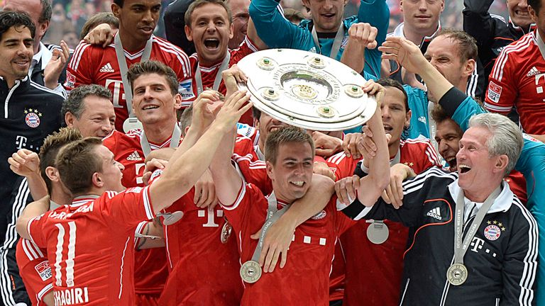 Bayern Munich get the title party started