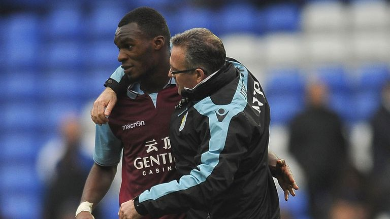 Christian Benteke: Paul Lambert wants striker to stay at Aston Villa