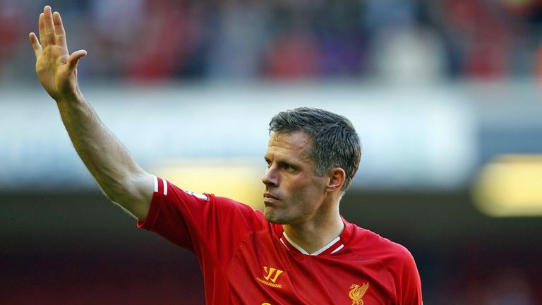 Jamie Carragher: Emotional send off at Liverpool