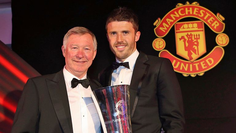Michael Carrick: Has thanked retiring Manchester United manager Sir Alex Ferguson