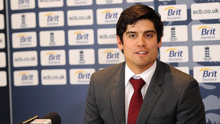 England skipper Alastair Cook