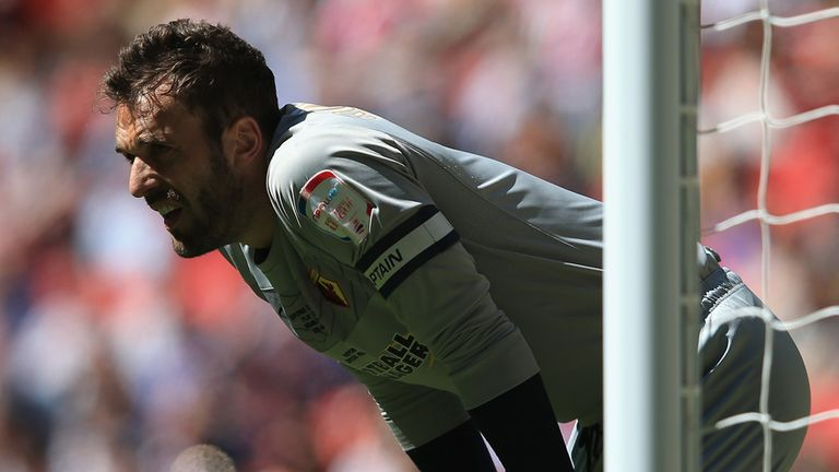 Manuel Almunia: Disappointed by showing at Wembey