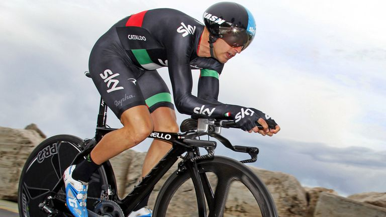 The Italian will campaign the national skinsuit