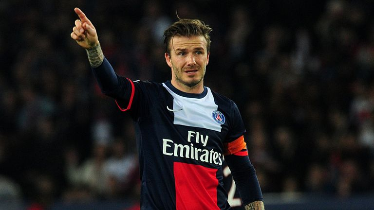 David Beckham: Has played the last match of his football career