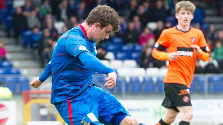Aaron Doran: Has agreed a new three-year contract with Inverness CT