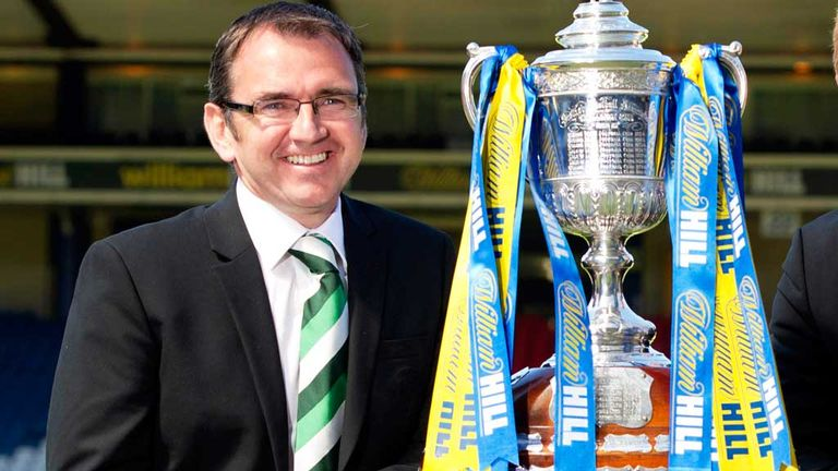 Pat Fenlon: Hoping to win the Scottish Cup with Hibernian on Sunday