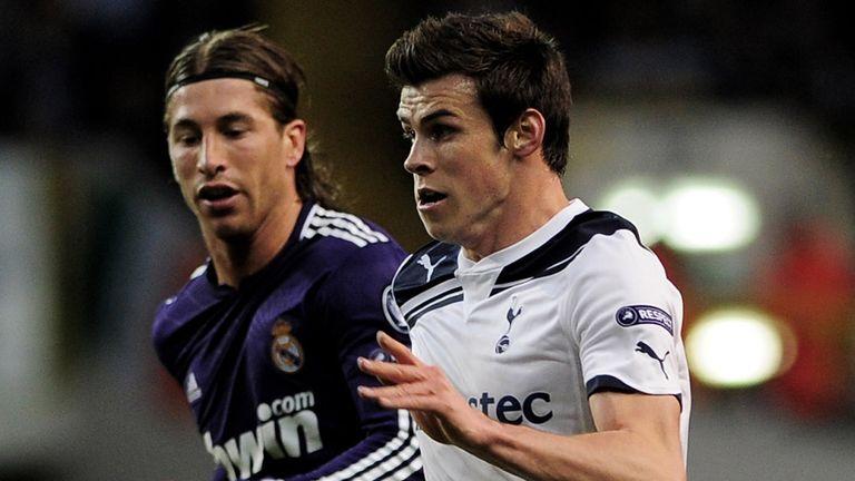 Gareth Bale: Has an admirer in Sergio Ramos