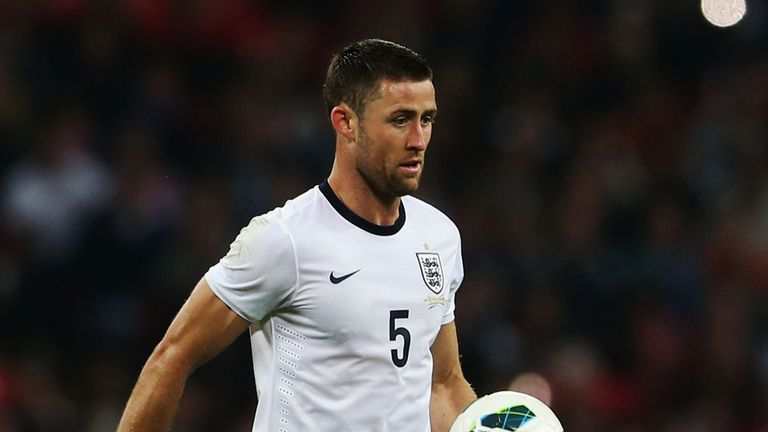 Gary Cahill: Looking forward to the 2014 World Cup after helping England to Brazil