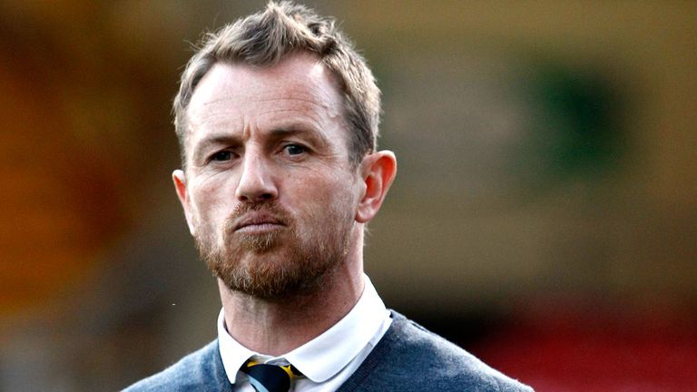 Gary Rowett: Not happy with his players
