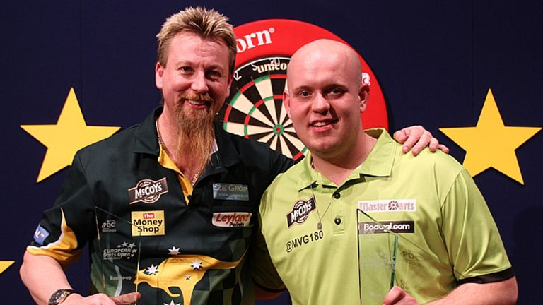 Michael van Gerwen: Bagged the European Open