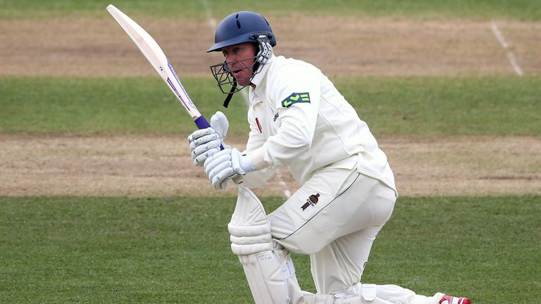 Murray Goodwin: Held firm for Glamorgan after early wickets fell