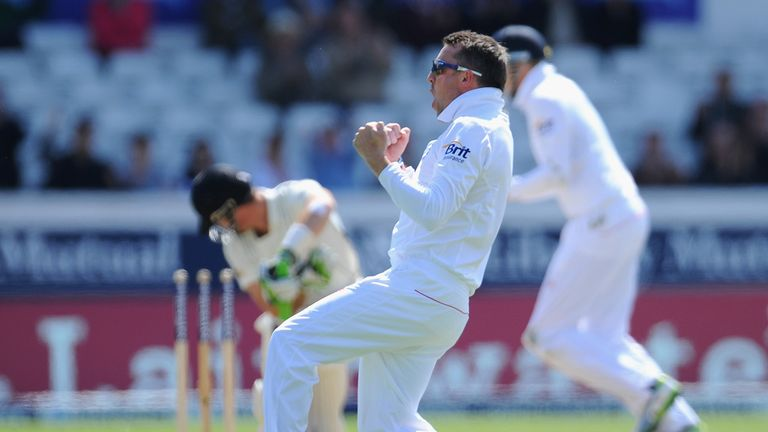 Graeme Swann: Delighted to be back amongst the wickets for England