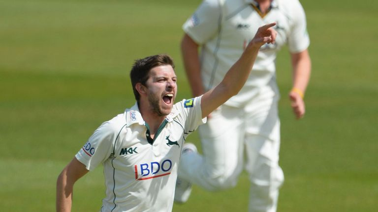 Harry Gurney: Notts fast bowler delighted with England call