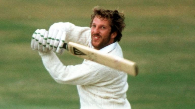 Hooked: Ian Botham's strokeplay of 1981 gripped a nation