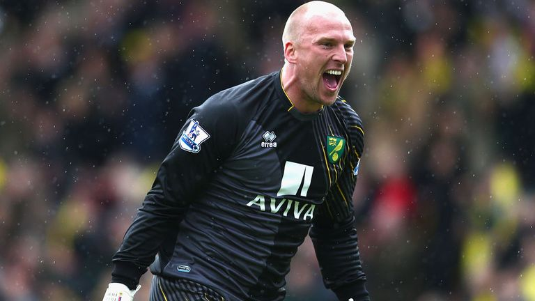 John Ruddy: Norwich goalkeeper had been linked with a move to Chelsea