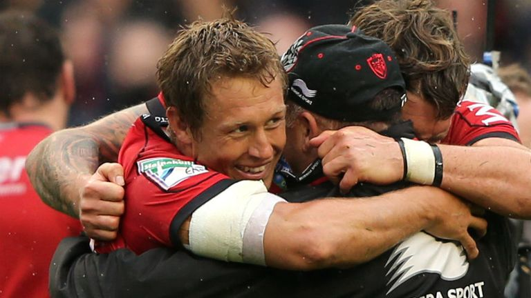 Jonny Wilkinson achieved back-to-back European Cups with Toulon in 2013 and 2014