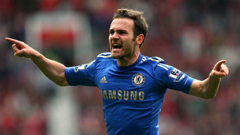 Juan Mata: Convinced Chelsea can win the title under Jose Mourinho