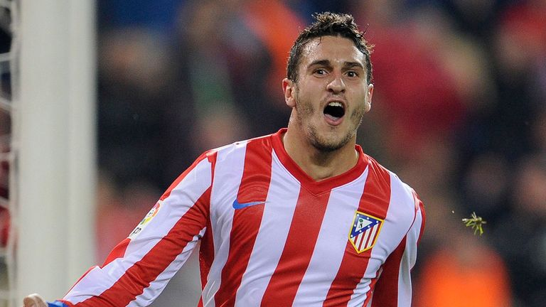 Koke: Represented Spain at age-group level