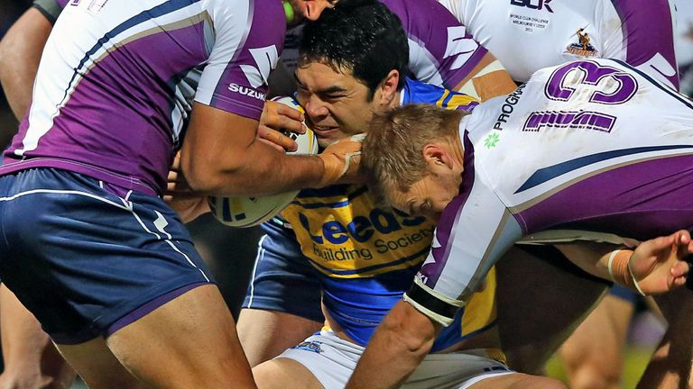 Kylie Leuluai: Agreed another 12-month deal at Leeds