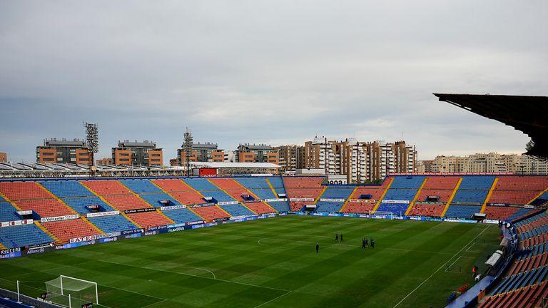 Deportivo were 4-0 winners at the Ciutat de Valencia last month