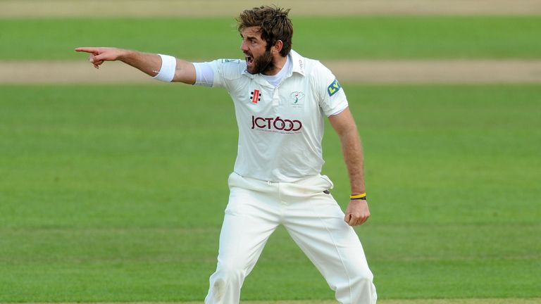 Liam Plunkett: Took 4-55 to put the skids under Warwickshire